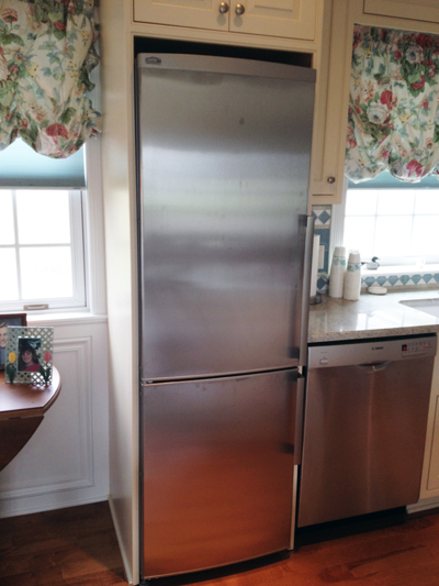 rethinking appliances refrigerator foster custom kitchens